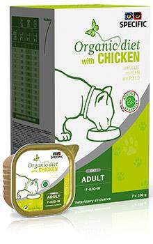Specific Organic Diet With Chicken F-BIO-W