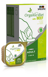 Specific Organic Diet With Beef C-BIO-W
