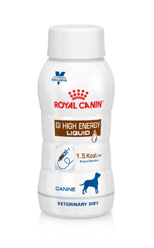 Royal Canin Veterinary Diets GI High Energy Liquid Dog, 3 x 200 ml