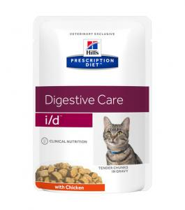 Hill´s Prescription Diet Feline i/d Tender Chunks in Gravy Chicken