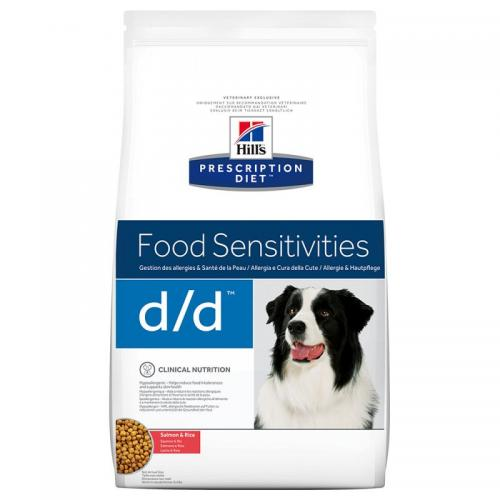 Hill´s Prescription Diet Canine d/d Salmon & Rice