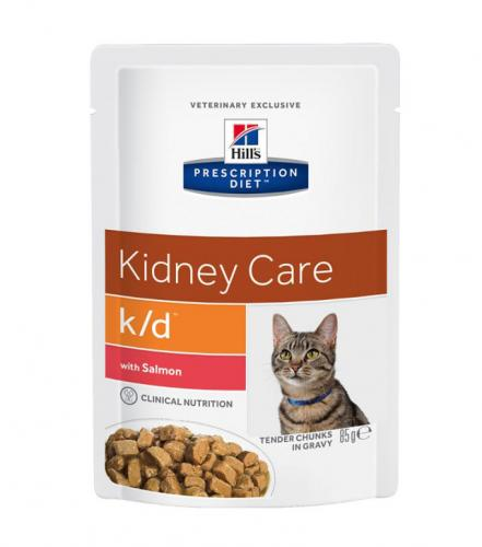 Hill's Prescription Diet Feline Renal Health k/d Salmon