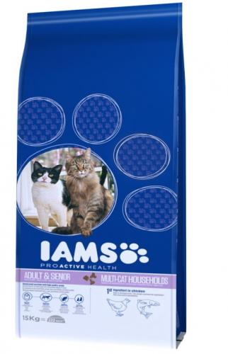 Iams Cat Adult Multi-Cat 15kg