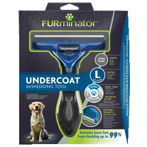 FURminator Undercoat deShedding Tool Large Dog Long Hair