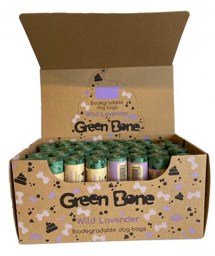 Green Bone Lavendel Biobajspåsar 1 rulle
