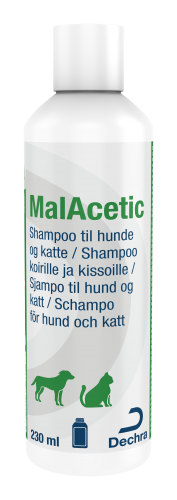 Dechra MalAcetic Schampo, 230 ml