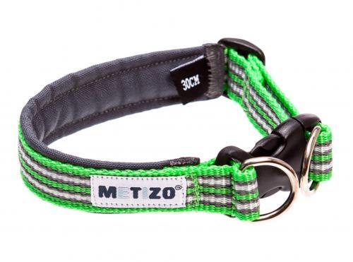 Metizo Halsband Fast Grönt