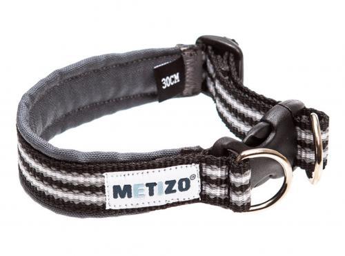 Metizo Halsband Fast Svart