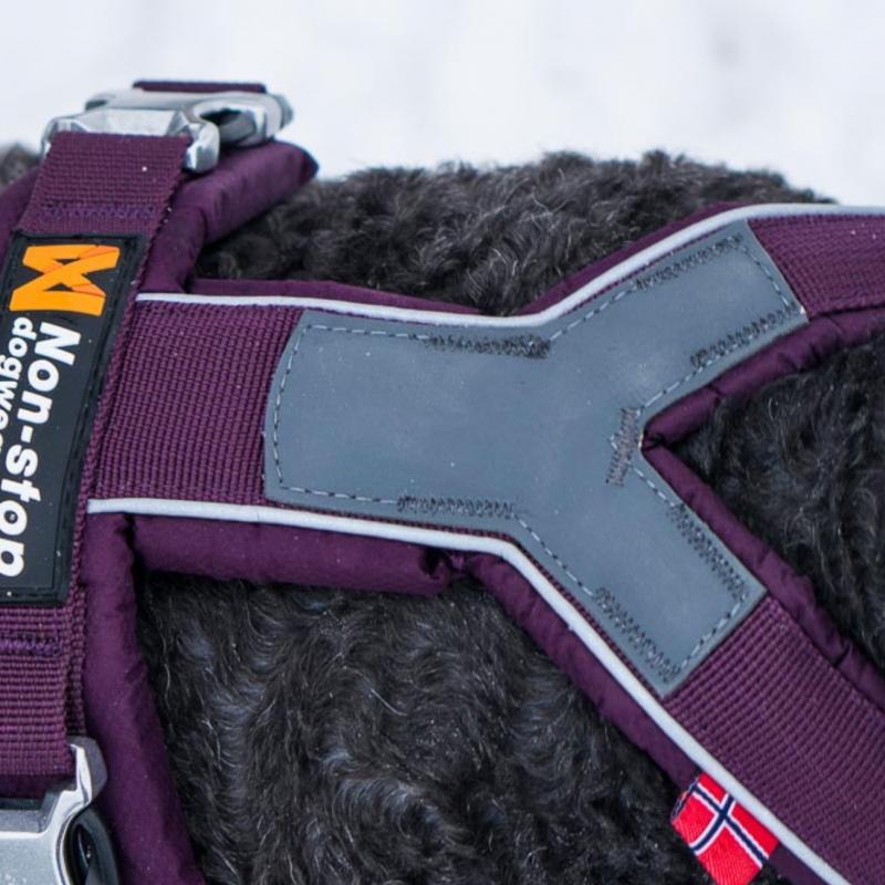 Non-Stop Dogwear Line Harness Lila