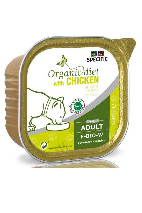 Specific Organic Diet With Chicken F-BIO-W