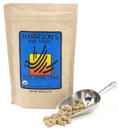 Harrisons Bird Foods Pepper Lifetime Coarse
