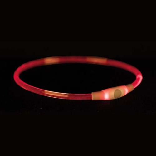 Trixie Flash Light Ring USB Multifärg