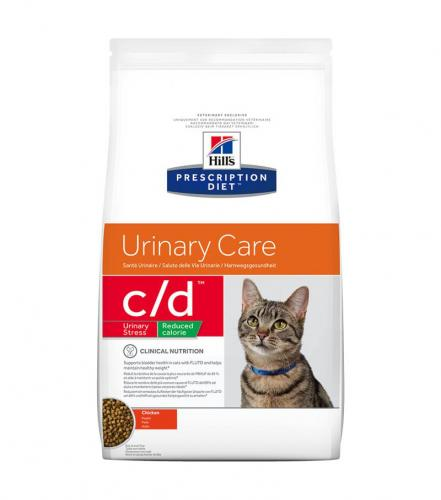 Hill's Prescription Diet Feline C/D Urinary Stress Reduced Calorie Chicken