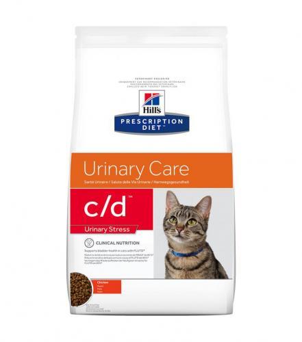 Hill's Prescription Diet Feline c/d Urinary Stress Chicken