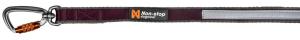 Non-stop Dogwear Move Leash Purple 20mm/1,7m