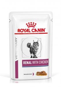 Royal Canin Veterinary Diet Cat Renal Chicken 12x85g