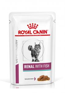 Royal Canin Veterinary Diet Cat Renal Fish 12x85g