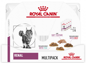 Royal Canin Veterinary Diet Cat Renal Multipack 4x85g