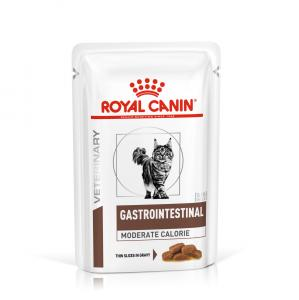Royal Canin Veterinary Diet Cat Gastrointestinal Moderate Calorie Wet 12x85g