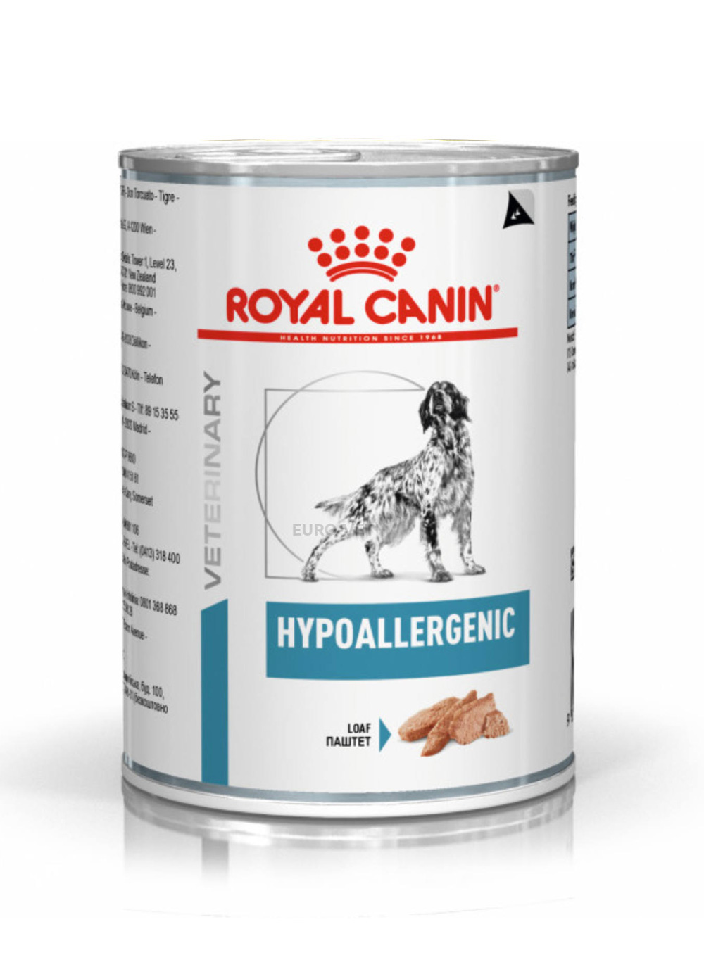Royal Canin Veterinary Diets Dog Derma Hypoallergenic Loaf
