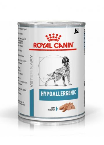 Royal Canin Veterinary Diet Hypoallergenic Wet Dog