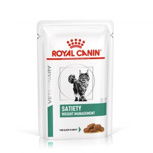 Royal Canin Veterinary Diet Cat Satiety Weight Management 12x85g