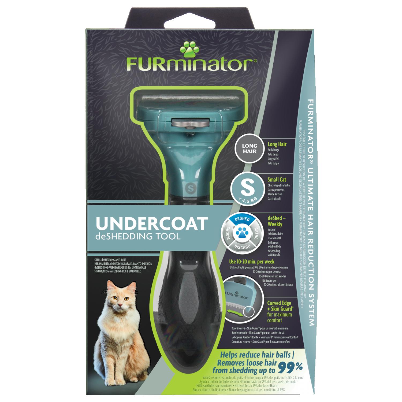 FURminator Undercoat deShedding Tool Small Cat Long Hair