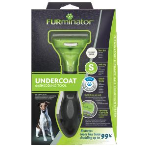FURminator Undercoat deShedding Tool Small Dog Short Hair