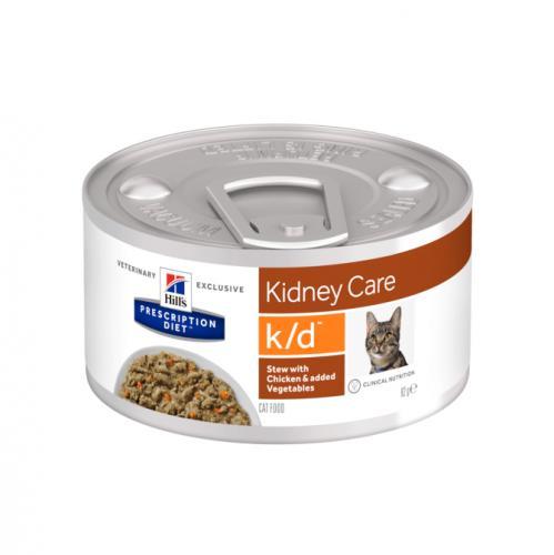 Hill's Prescription Diet Feline k/d Chicken & Vegetable Stew