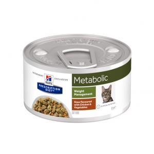 Hill's Prescription Diet Metabolic Stew kattfoder Grönsaker och Kyckling