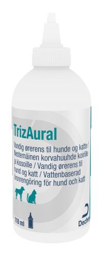 Dechra TrizAural Öronrengöring, 118 ml