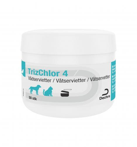 Dechra TrizChlor4 Wet Wipes