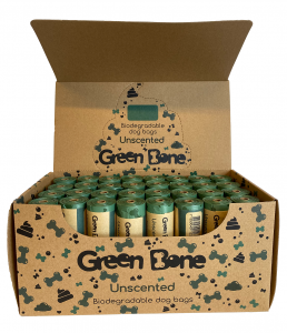 Green Bone Unscented Biobajspåsar 1 rulle