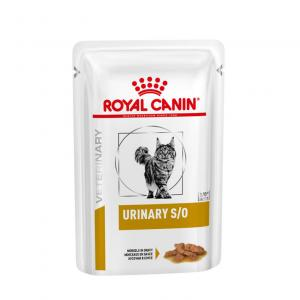 Royal Canin Veterinary Diet Cat Urinary S/O Chicken Wet 12x85g