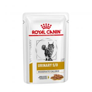 Royal Canin Veterinary Diet Cat Urinary S/O Moderate Calorie Wet 12x85g