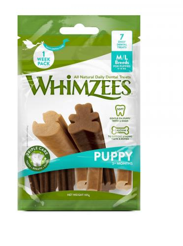 Whimzees Puppy M/L Påse