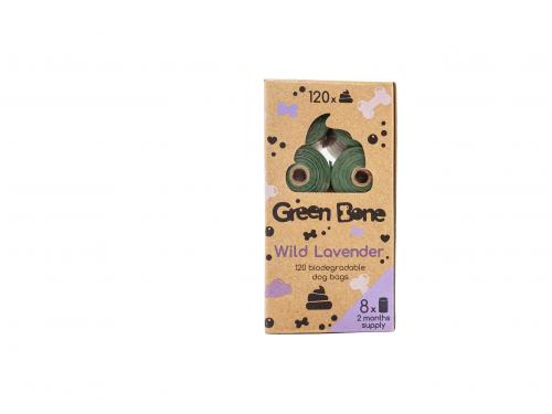 Green Bone Lavendel Biobajspåsar 8 rullar