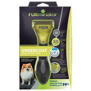 FURminator Undercoat deShedding Tool XSmall Toydog Long Hair