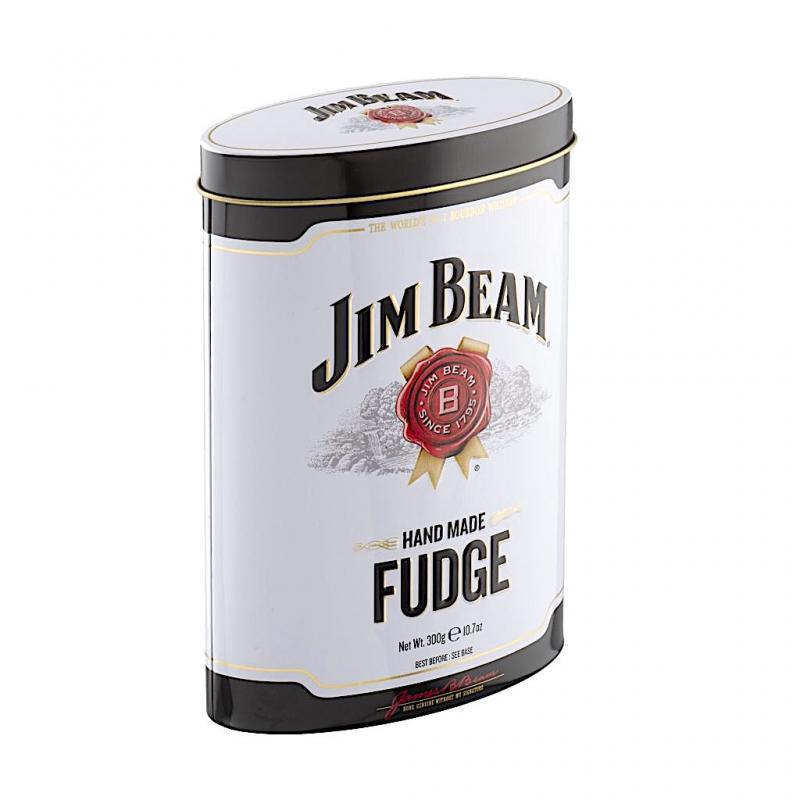 Jim Bean Whiskey Fudge Tin 300g