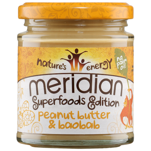 Peanut Butter with Baobab 170g