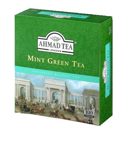 MINT MYSTIQUE GREEN TEA 100 Tepåsar