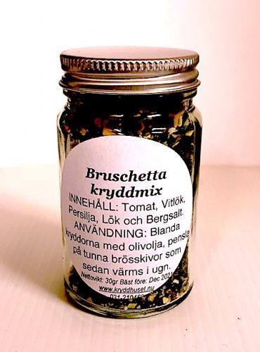 Bruschetta kryddmix 30gr