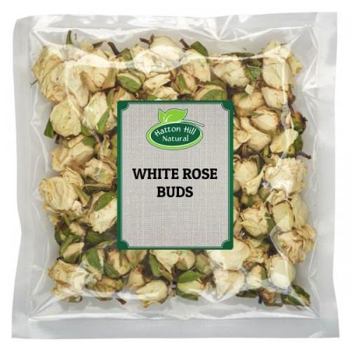 White Rose Buds 100gr