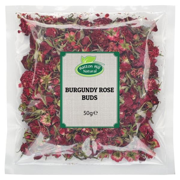 Burgundy Rose Buds 100gr