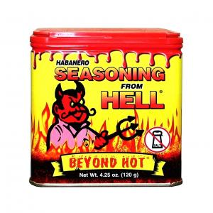 Habanero Seasoning From Hell, Beyond Hot 120gr