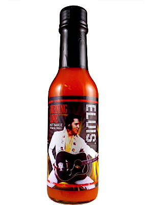 Elvis Burning Love Hot Sauce - Hot 148 m