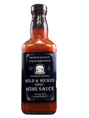 Historic Lynchburg Tennessee Whiskey Wild and Wicked Wing Sauce 426g