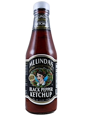 Melinda's Black Pepper Ketchup 390g