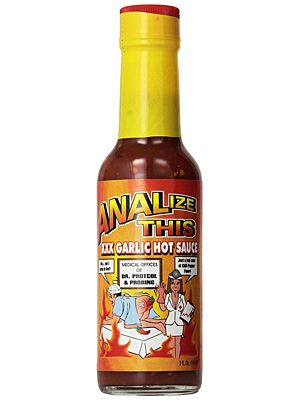 ANALize This XXX Garlic Hot Sauce​