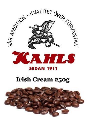 IRISH CREAM - SMAKSATT KAFFE 250gr Helabönor